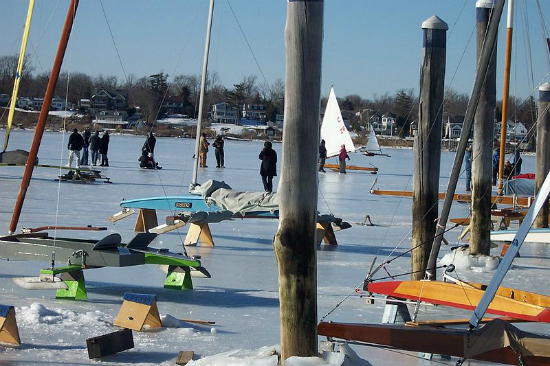 Ice Boats Red Bank