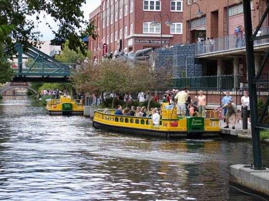 Bricktown Canal Water Taxis