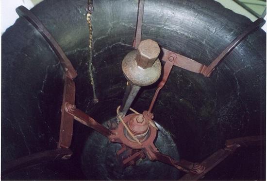 Liberty Bell Underside