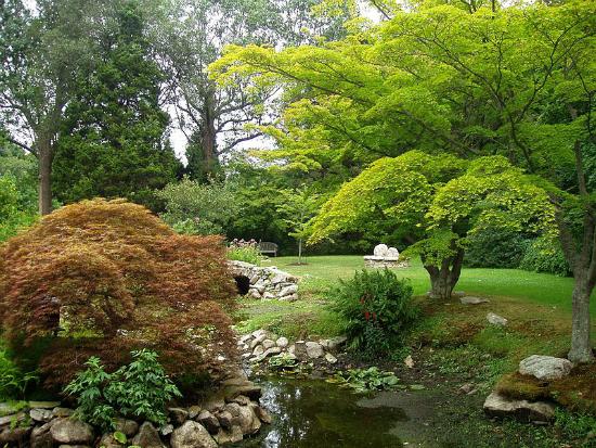 Blithewold Mansion Water Garden Rhode Island