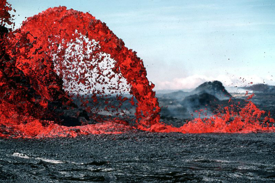 Lava Fountain Hawaii