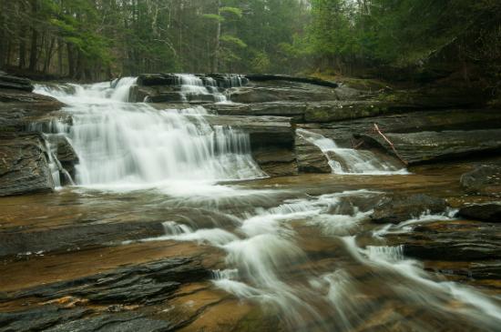 Umpachene Falls Massachusettes